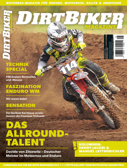Dirtbiker Magazine April 25, 2019 00:00