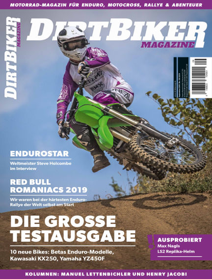 Dirtbiker Magazine August 22, 2019 00:00