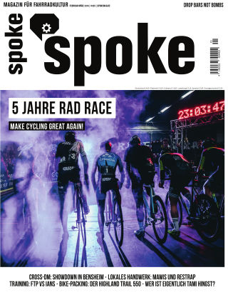 SPOKE Magazine (eingestellt) 25 - 01/2018