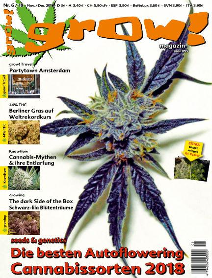 grow! Magazin October 31, 2018 00:00