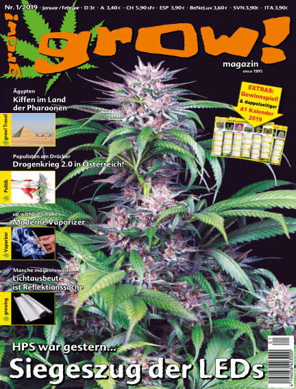 grow! Magazin December 19, 2018 00:00