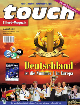 touch Billard-Magazin Nr. 35