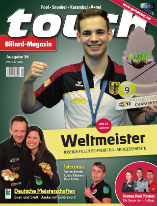 touch Billard-Magazin Nr. 36