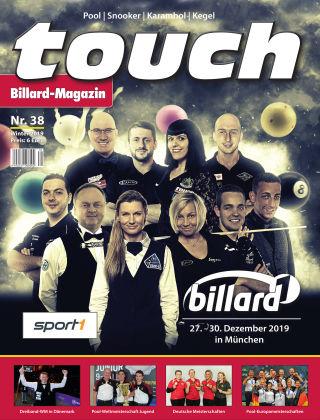 touch Billard-Magazin Nr. 38