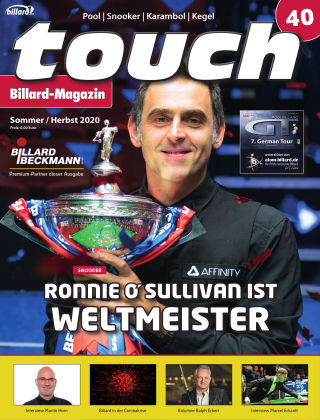 touch Billard-Magazin Nr. 40