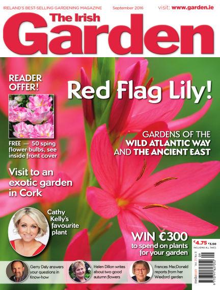 The Irish Garden September 07, 2016 00:00