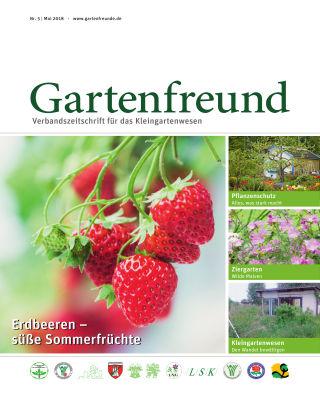 Gartenfreund 05.2018