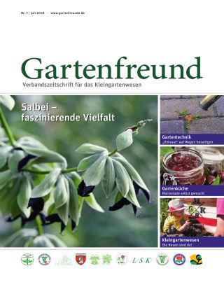 Gartenfreund 07.2018