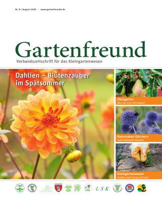 Gartenfreund 08.2018