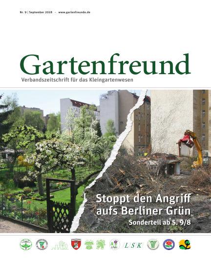 Gartenfreund September 01, 2018 00:00