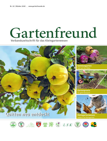 Gartenfreund October 01, 2018 00:00