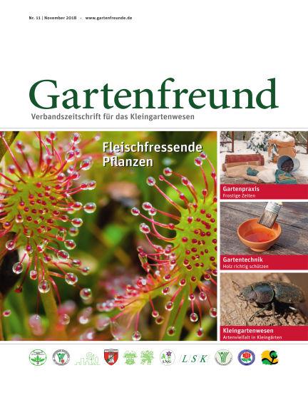 Gartenfreund November 01, 2018 00:00