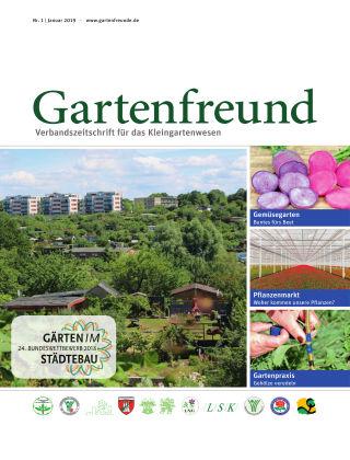 Gartenfreund 01.2019