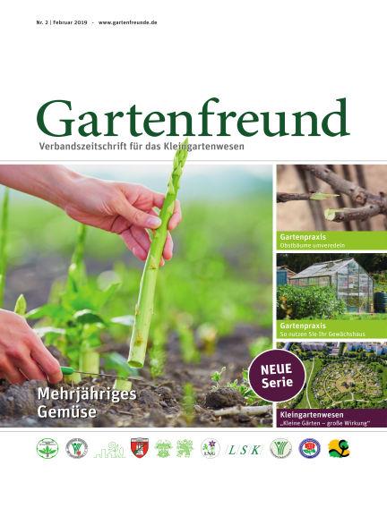 Gartenfreund February 01, 2019 00:00