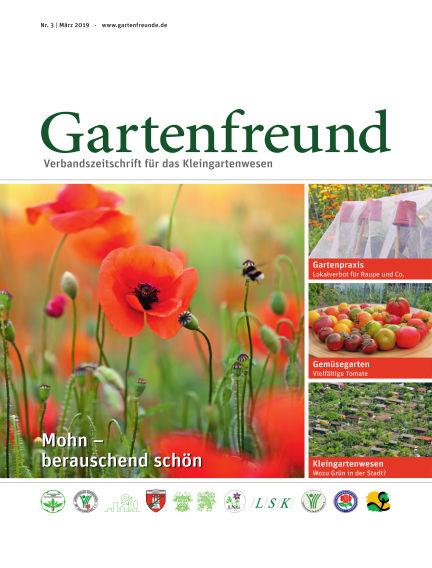 Gartenfreund March 01, 2019 00:00