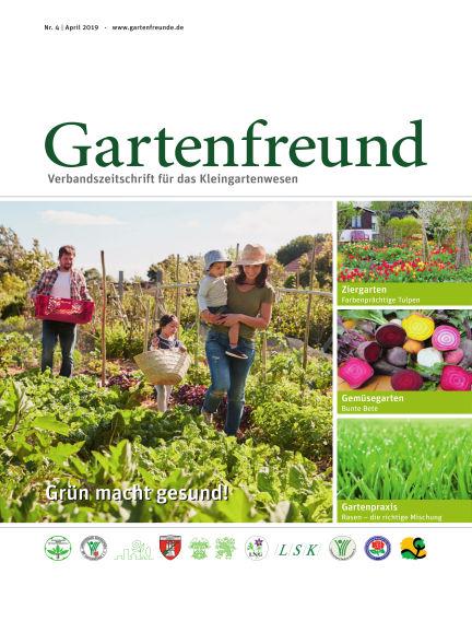 Gartenfreund April 01, 2019 00:00
