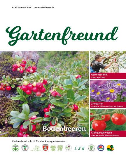 Gartenfreund September 01, 2019 00:00