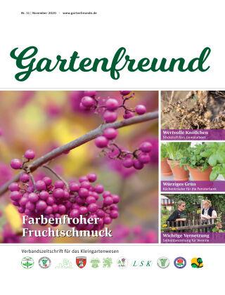 Gartenfreund 11.2020