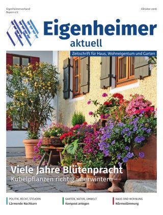 Eigenheimer aktuell 10.2018