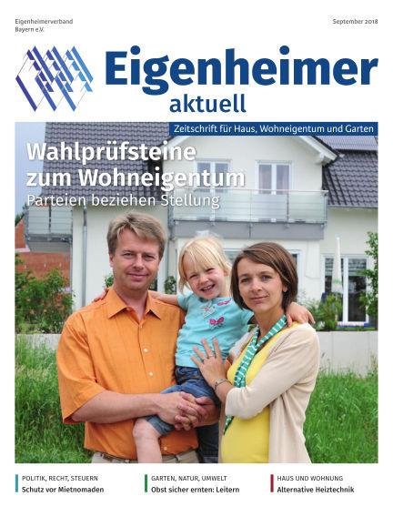 Eigenheimer Magazin September 01, 2018 00:00