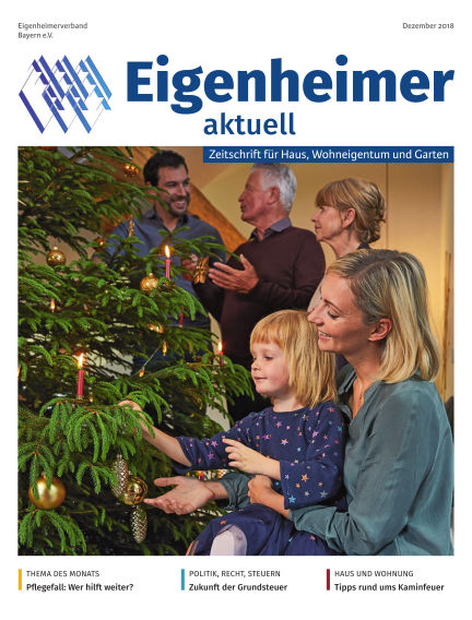Eigenheimer Magazin December 01, 2018 00:00