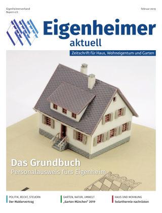 Eigenheimer aktuell 02.2019