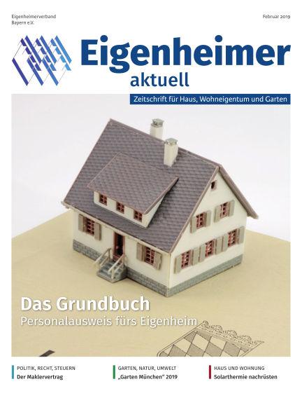 Eigenheimer Magazin February 01, 2019 00:00