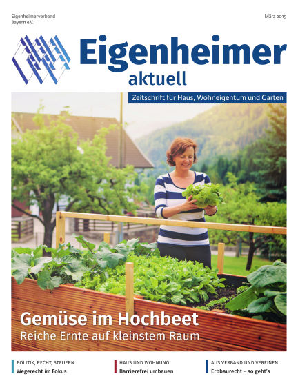 Eigenheimer Magazin March 01, 2019 00:00