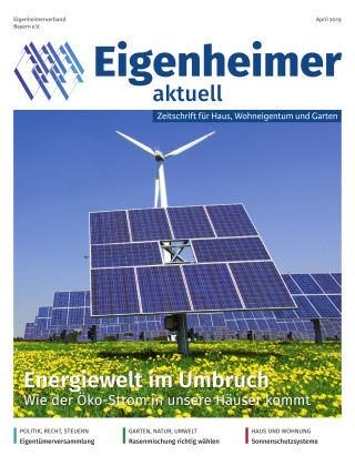 Eigenheimer aktuell 04.2019