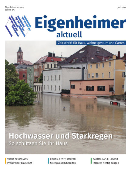 Eigenheimer Magazin May 31, 2019 00:00