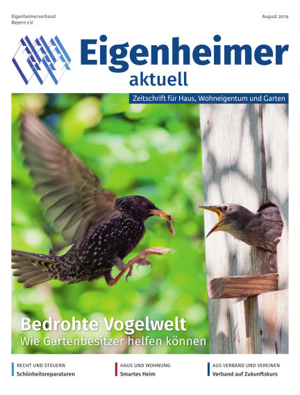 Eigenheimer Magazin July 30, 2019 00:00