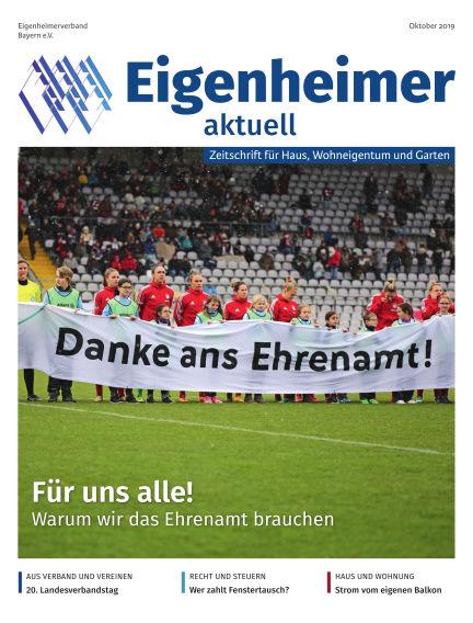 Eigenheimer Magazin September 29, 2019 00:00