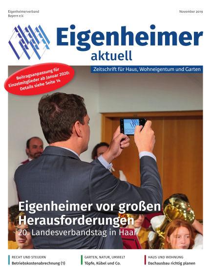 Eigenheimer Magazin October 31, 2019 00:00