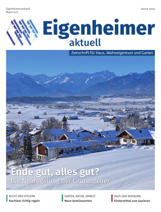 Eigenheimer aktuell 01.2020