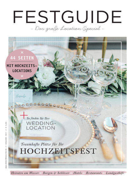 Braut & Bräutigam Specials August 01, 2017 00:00