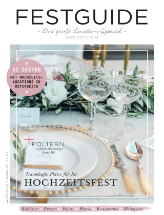 Braut & Bräutigam Specials (AT) Festguide 2017