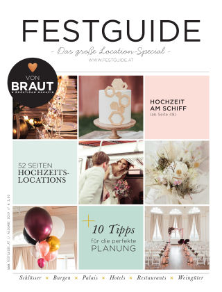 Braut & Bräutigam Specials (AT) Festguide 2019