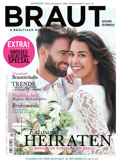 Braut & Bräutigam (AT) September 22, 2018 00:00