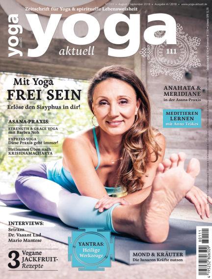 Yoga Aktuell August 01, 2018 00:00