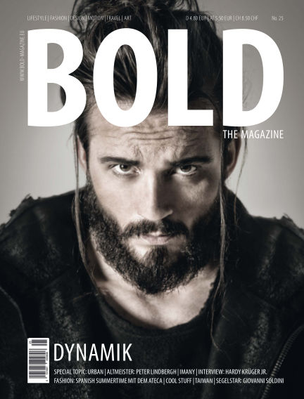 BOLD THE MAGAZINE  August 23, 2016 00:00