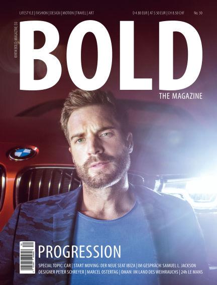BOLD THE MAGAZINE  July 07, 2017 00:00