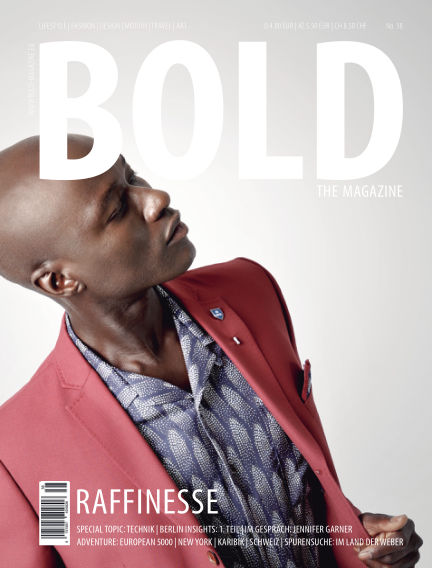 BOLD THE MAGAZINE  November 03, 2018 00:00