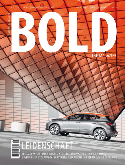 BOLD THE MAGAZINE  December 14, 2018 00:00