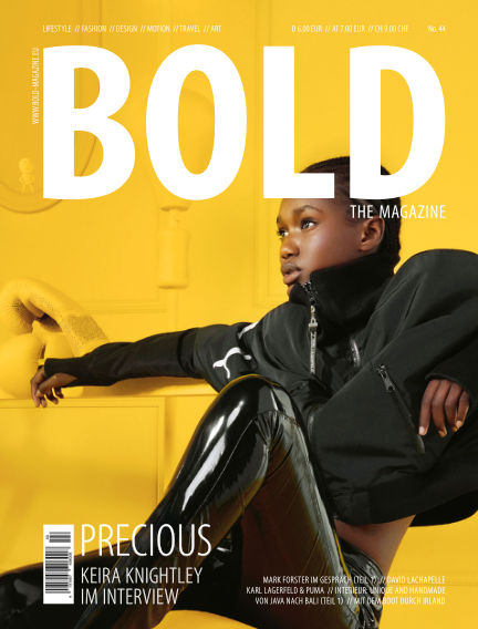 BOLD THE MAGAZINE  November 08, 2019 00:00