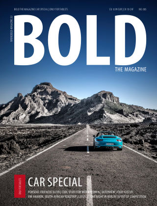 BOLD CAR SPECIAL No. 05