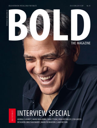 BOLD INTERVIEW SPECIAL No. 01