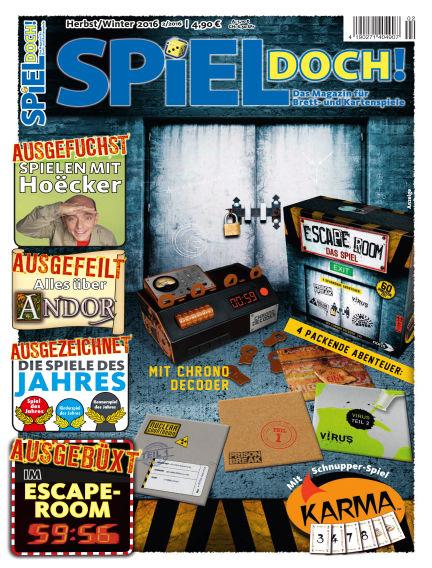 SPIEL DOCH! October 11, 2016 00:00