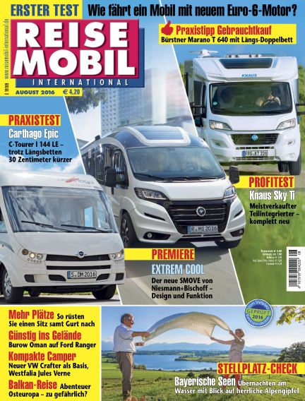 Reisemobil International July 19, 2016 00:00