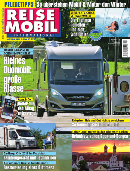 Reisemobil International October 08, 2016 00:00