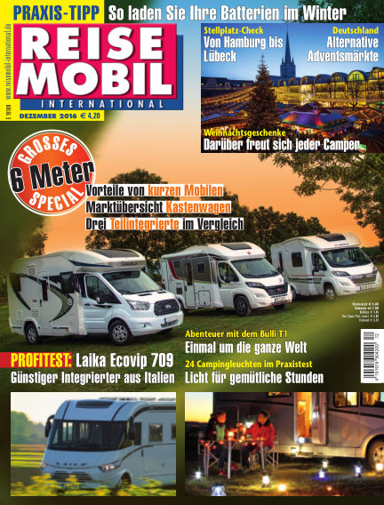 Reisemobil International November 04, 2016 00:00